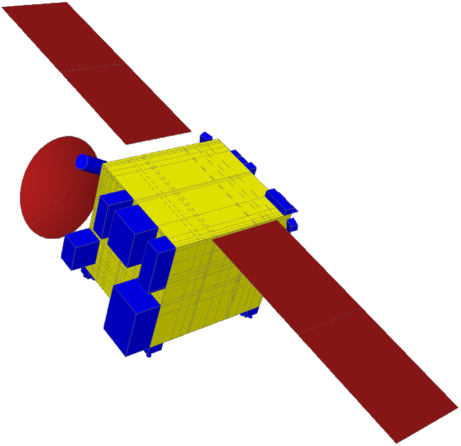 Thermal Model of a satellite